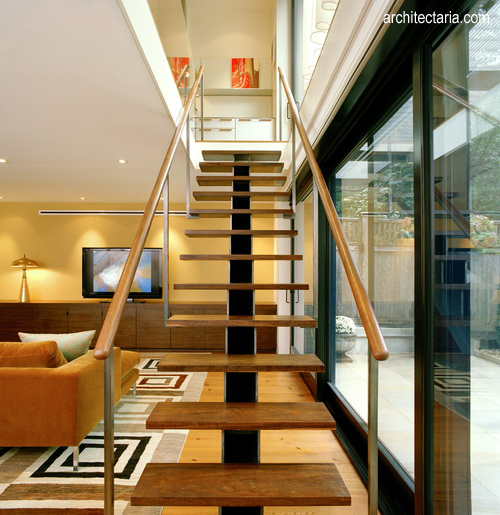 33 Staircase Designs Enriching Modern Interiors With: 40 Model Tangga Kayu Minimalis, Dan Modern