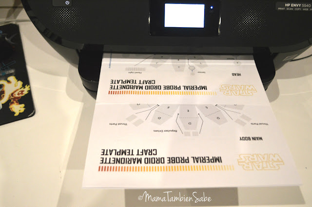 Imprimibles desde la app de la impresora HP Envy