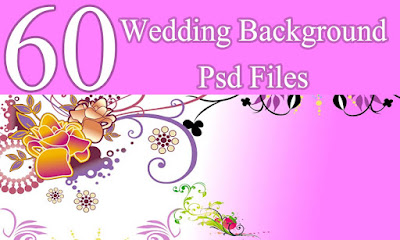 60 Wedding Background
