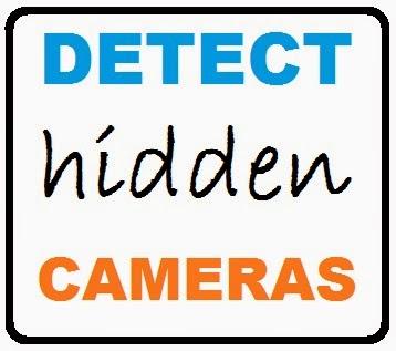 how to detect hidden camera