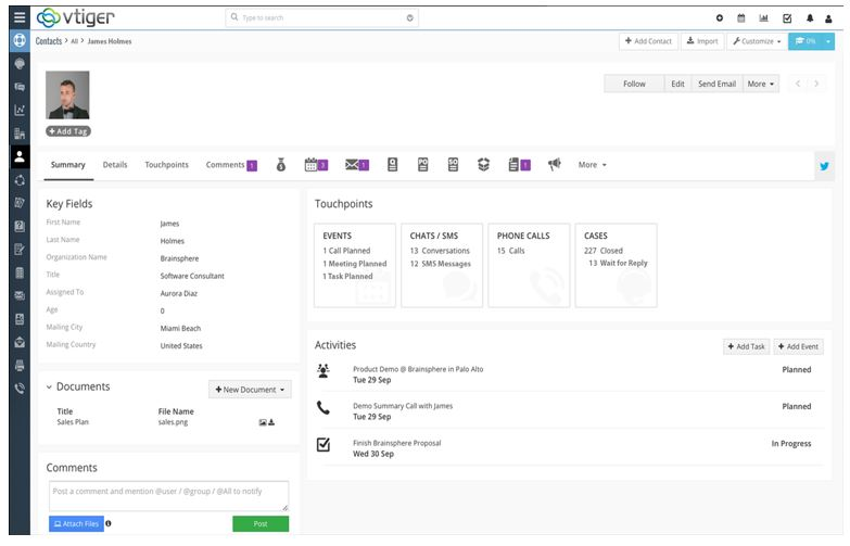 Top 10 free, paid and open source CRM software suites