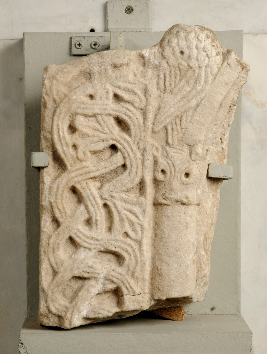 Medieval hungary stone carvings stolen from the