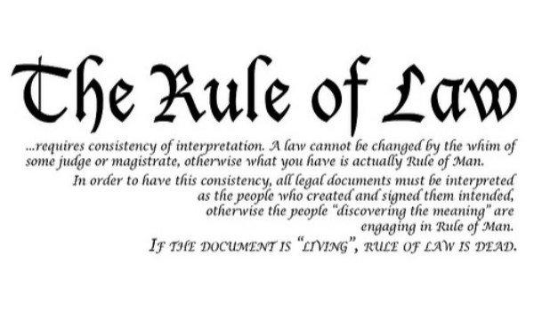 Konsep Rule of Law apa yang Mahathir pakai?