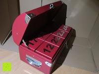 kleiner Winkel: Adventskalender als piratige rustikale Schatztruhe - 24 einzelnen Schatzboxen - Ideal für den Advent