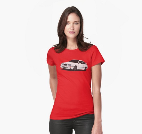 Ford Sierra RS500 Cosworth shirts