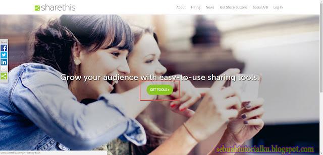Memasang Tombol Share Di Blog Atau Web