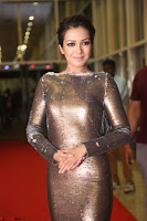 Actress Catherine Tresa in Golden Skin Tight Backless Gown at Gautam Nanda music launchi ~ Exclusive Celebrities Galleries 099.JPG