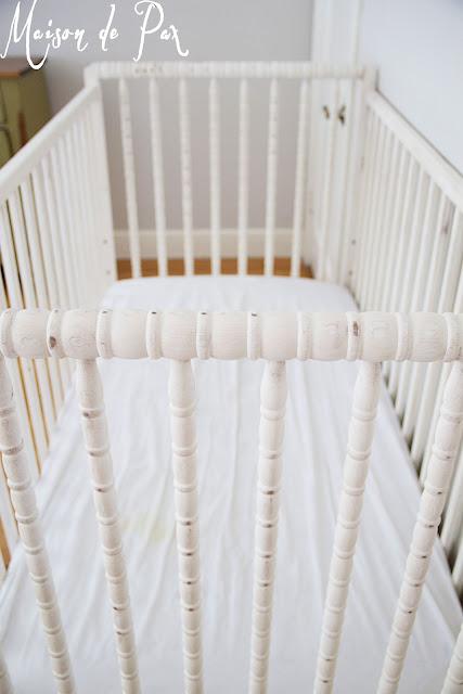 Free Spindle Crib- Maison de Pax