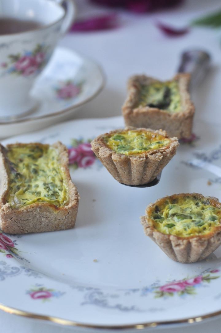 Mini Quiches, gluten free and oh-so good!