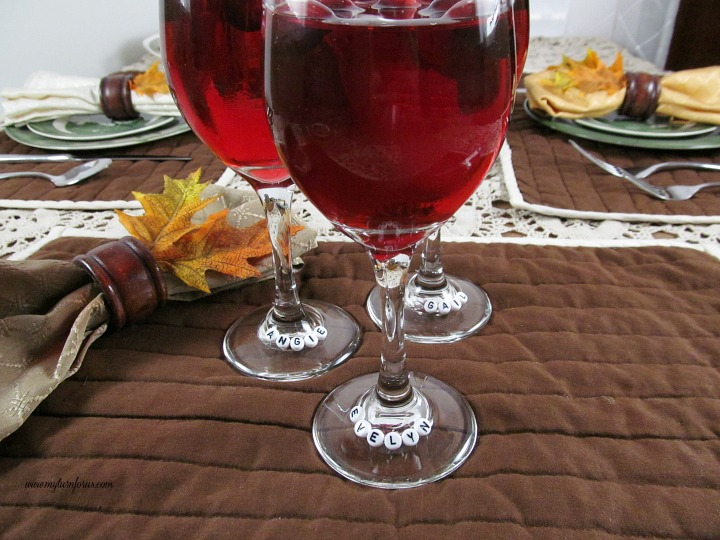 Personalized wine Glass Charms to make