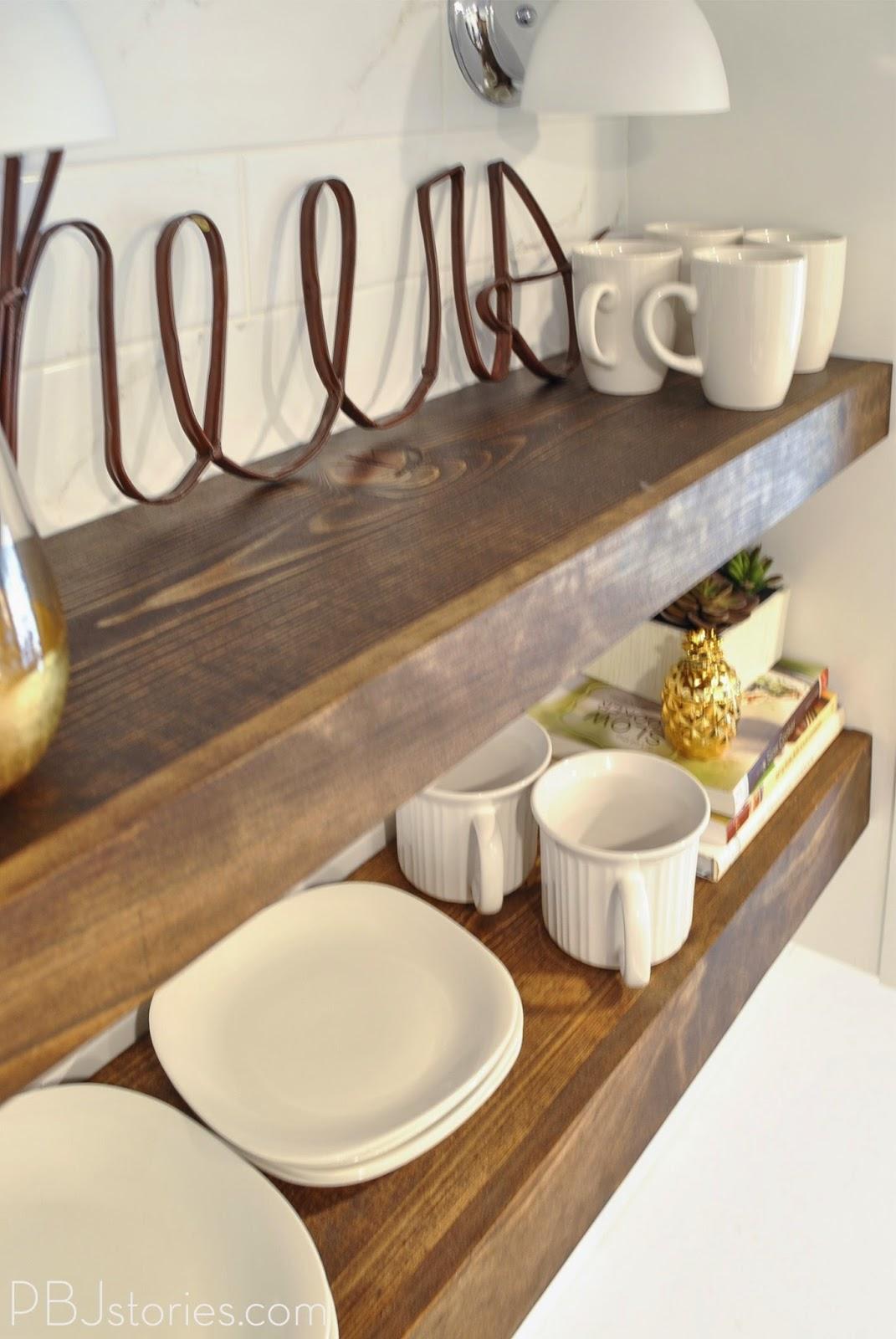 Open Shelf Kitchen Cabinets
