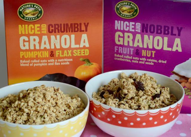 Nature's Path Organic Granola's