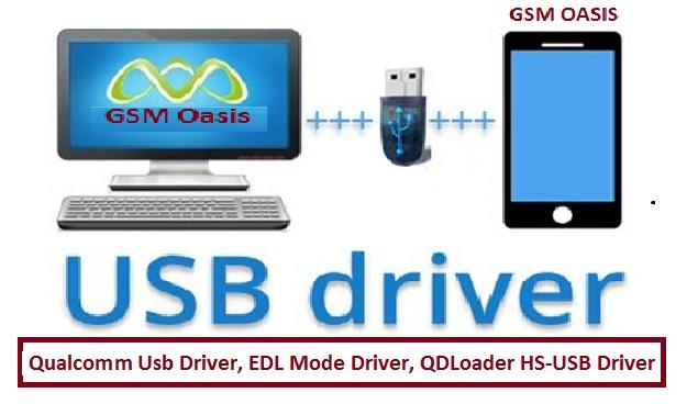 Qualcom Driver || QDLoader HS-USB Driver || EDL Mode Driver