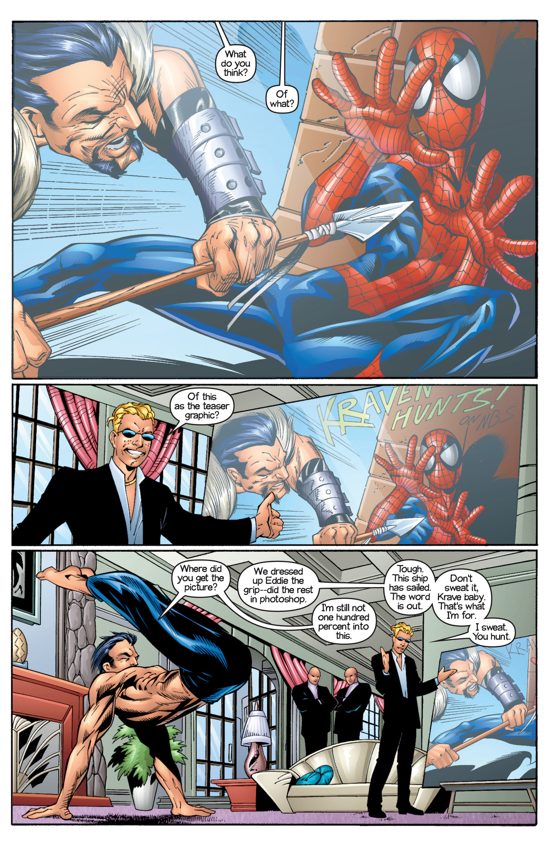 Read online Ultimate Spider-Man (2000) comic -  Issue #17 - 3