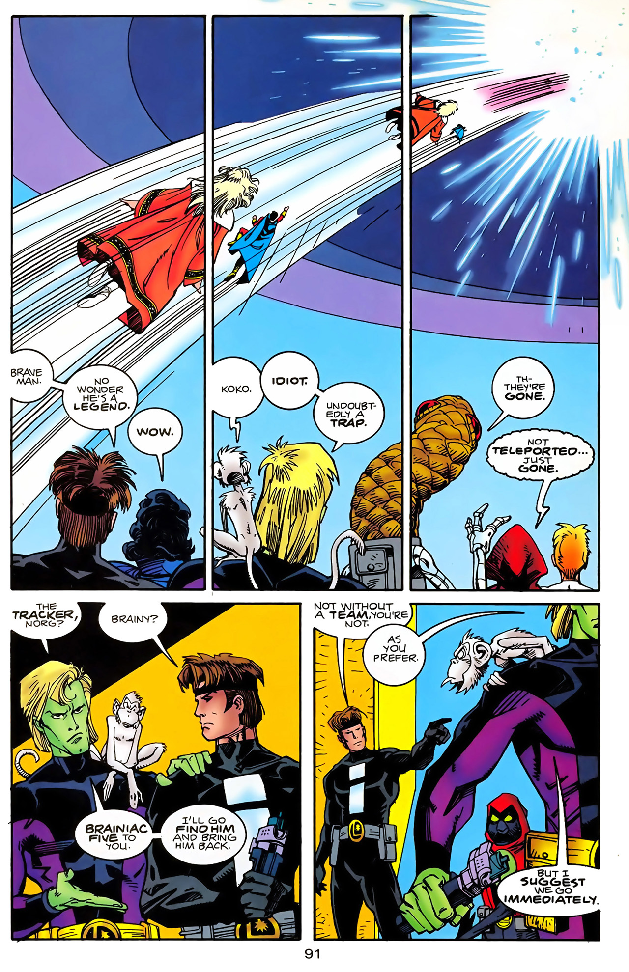 Legion of Super-Heroes (1989) 100 Page 83