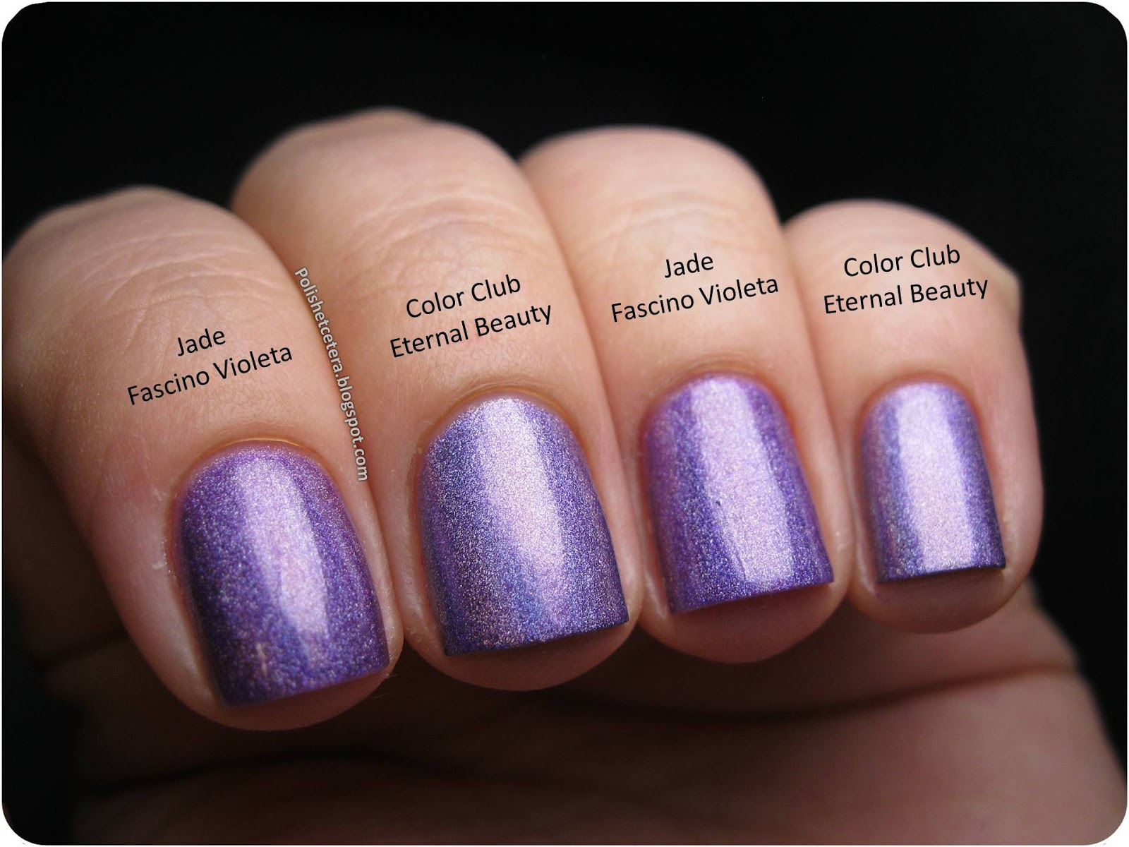 Holographic Nail Polish Colour Club