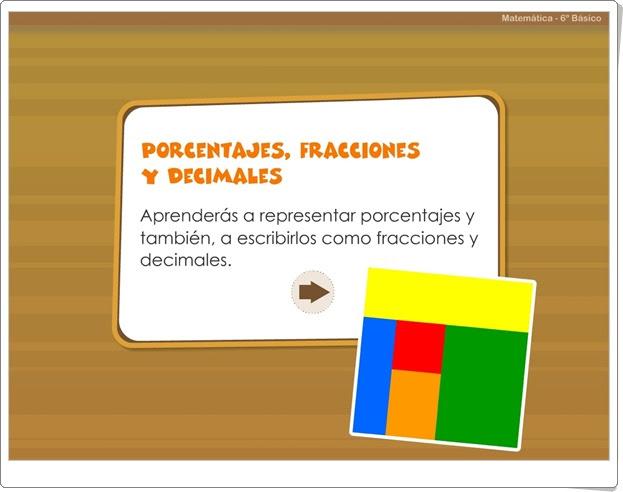"""""""Porcentajes, fracciones y decimales"""""""