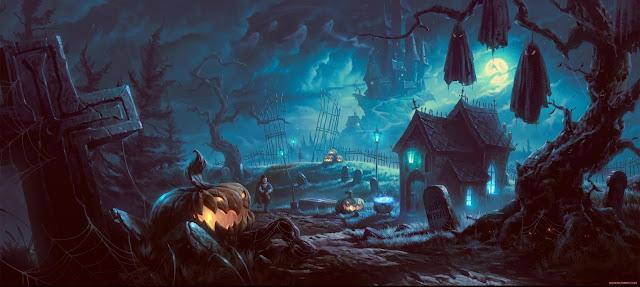 Halloween backgrounds desktop 7