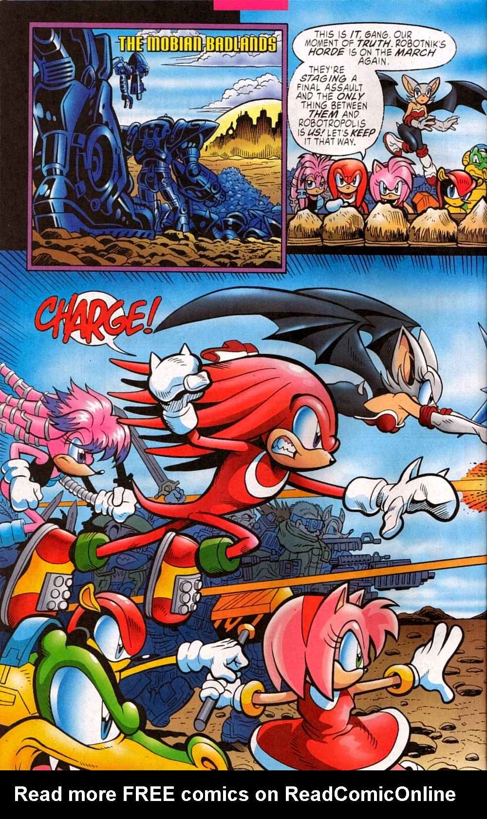 Read online Sonic The Hedgehog comic -  Issue #133 - 8