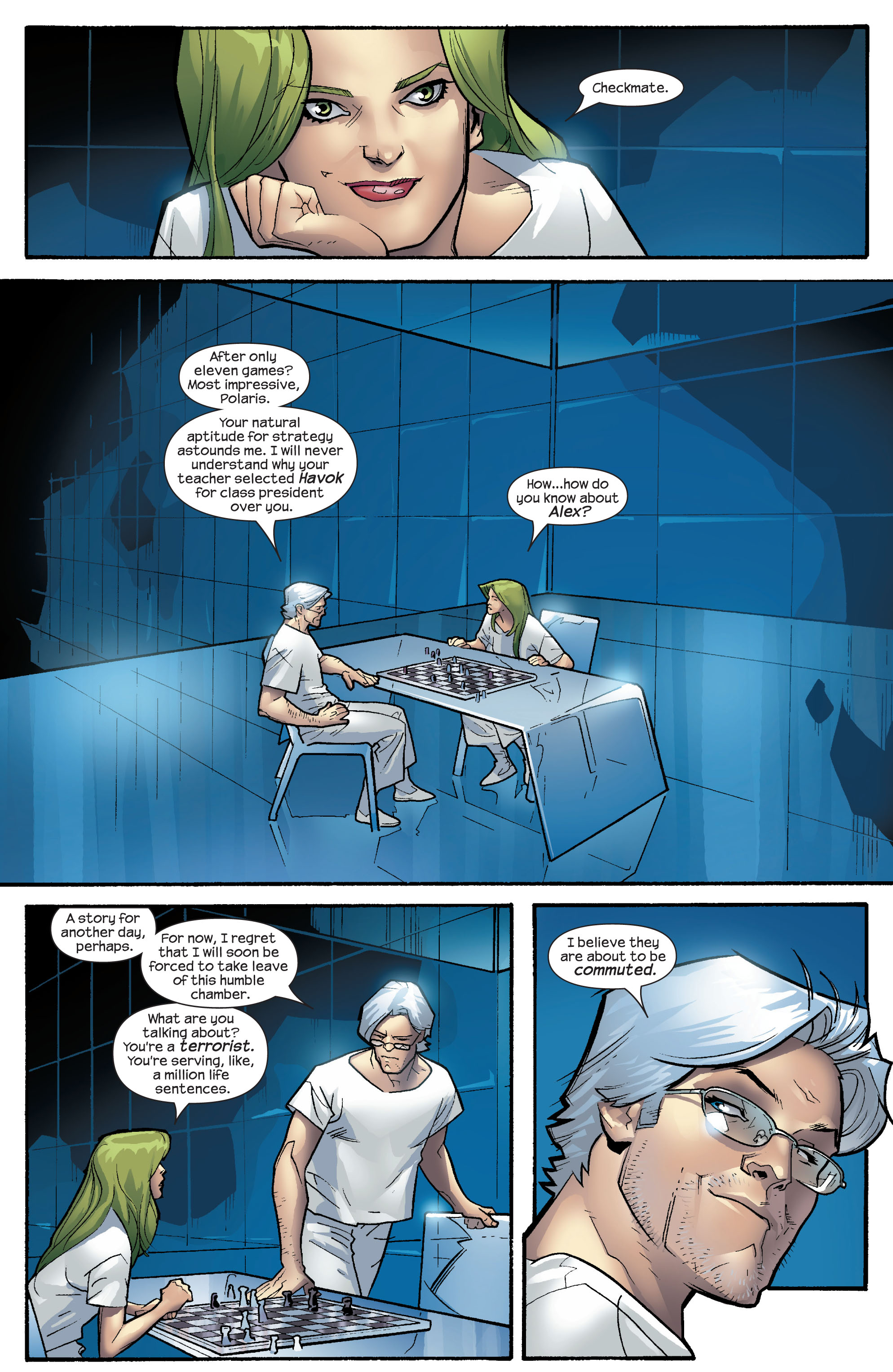 Read online Ultimate X-Men comic -  Issue #64 - 7