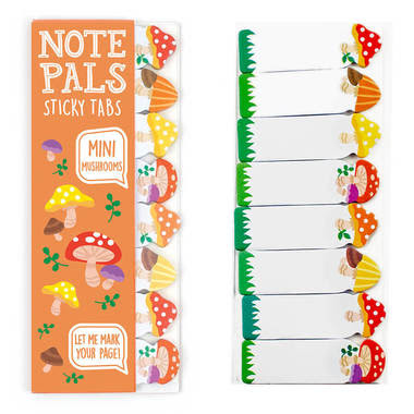 Mini Mushroom Sticky Notes