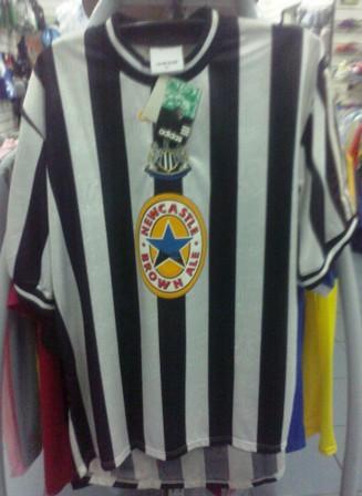 24 Seven Store  Original Newcastle United Shirt 1997 98 843d50a8f