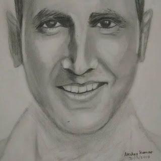 Akshay Kumar Akshay Kumar Pencil Sketches Portraits Gallery