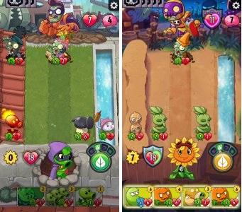 Screenshot Plants vs Zombie Heroes