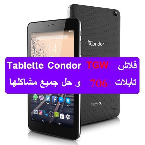 flash tablette condor tgw-706