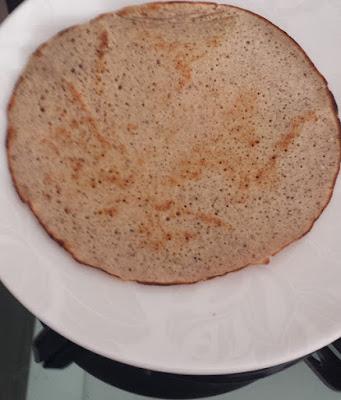 Receita de PANQUECA DE CASTANHA DE CAJU (Panqueca sem gluten)