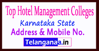 Top Hotel Management Colleges in Karnataka