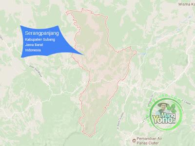 PETA : Kecamatan Serangpanjang, Kabupaten Subang, Jawa Barat