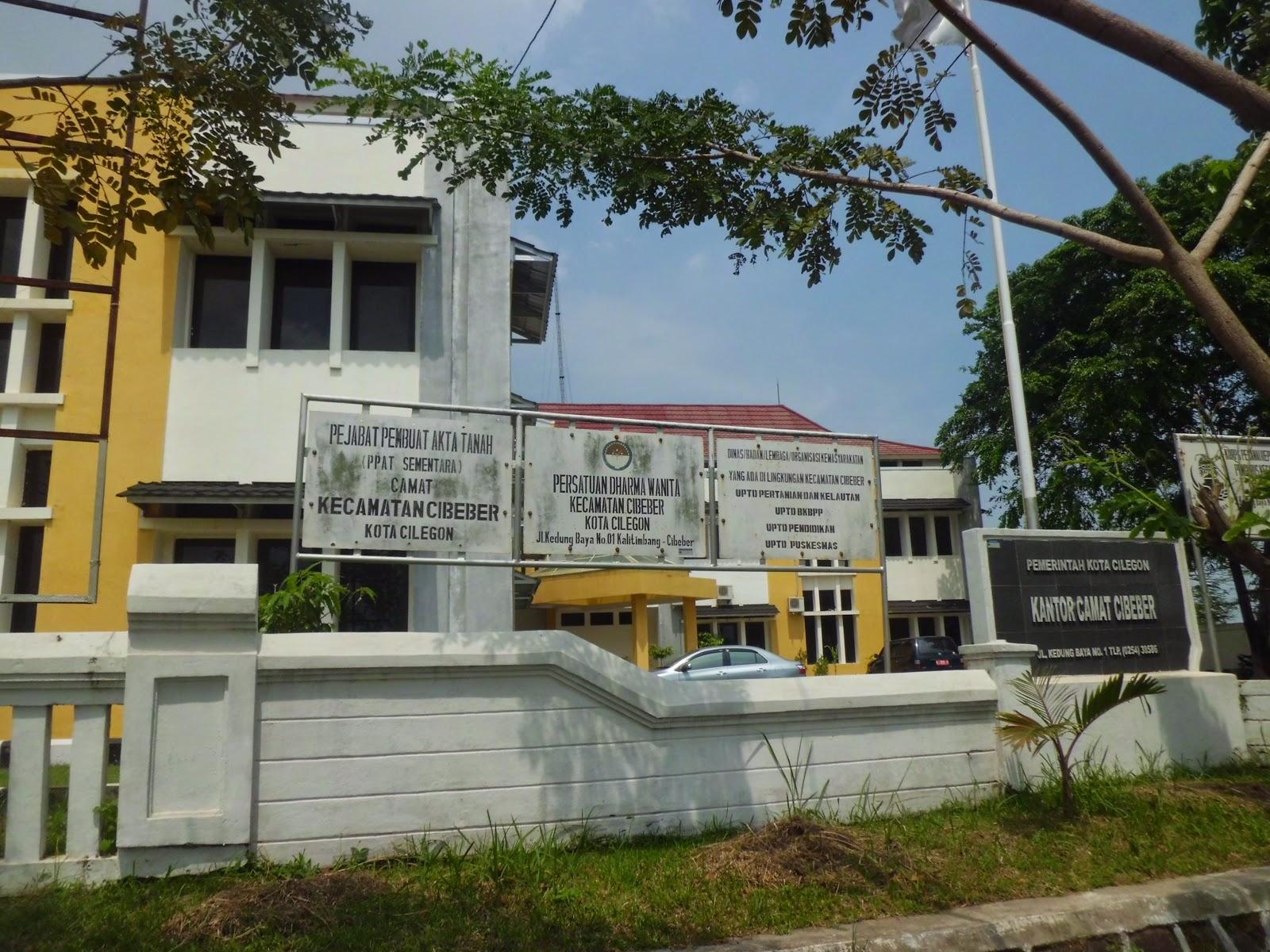 kantor kecamatan Cibeber Cilegon