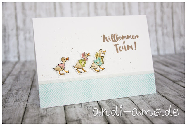 Karte Stampin Up Fable Friends