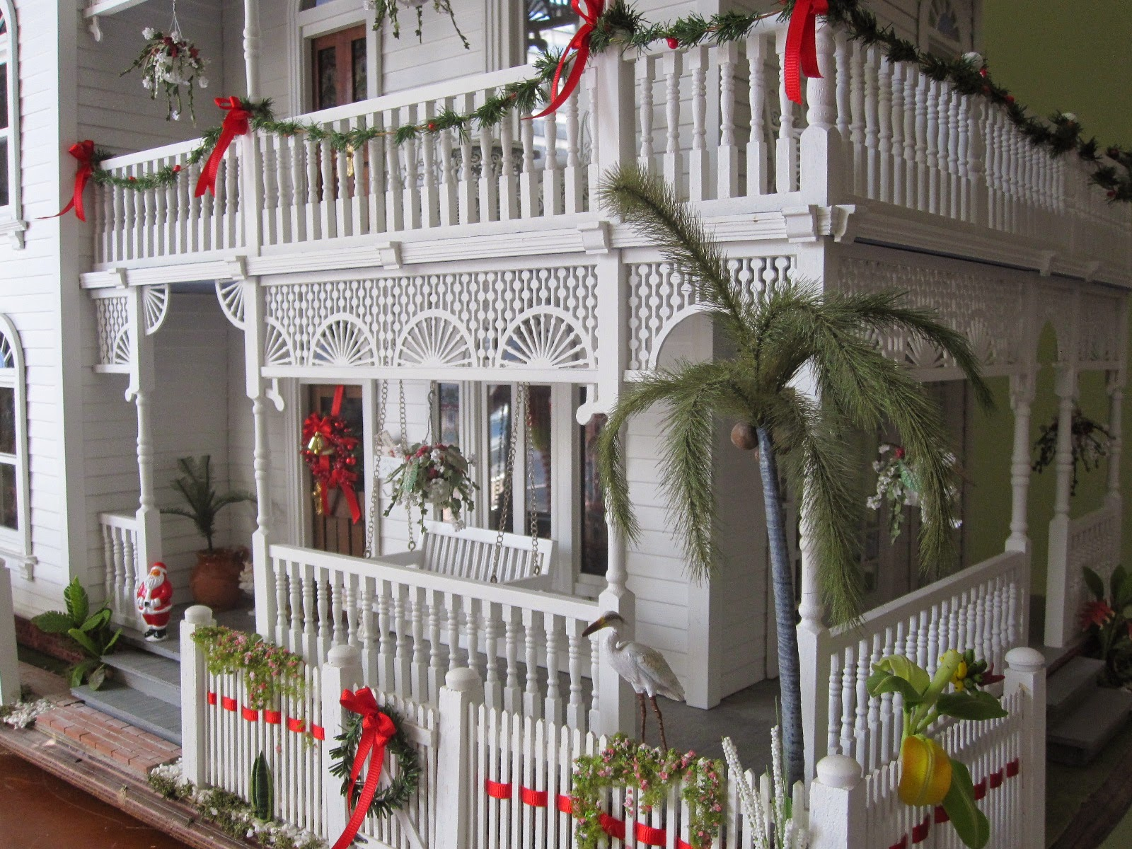 Dollhouses By Robin Carey My Red And White Candy Cane