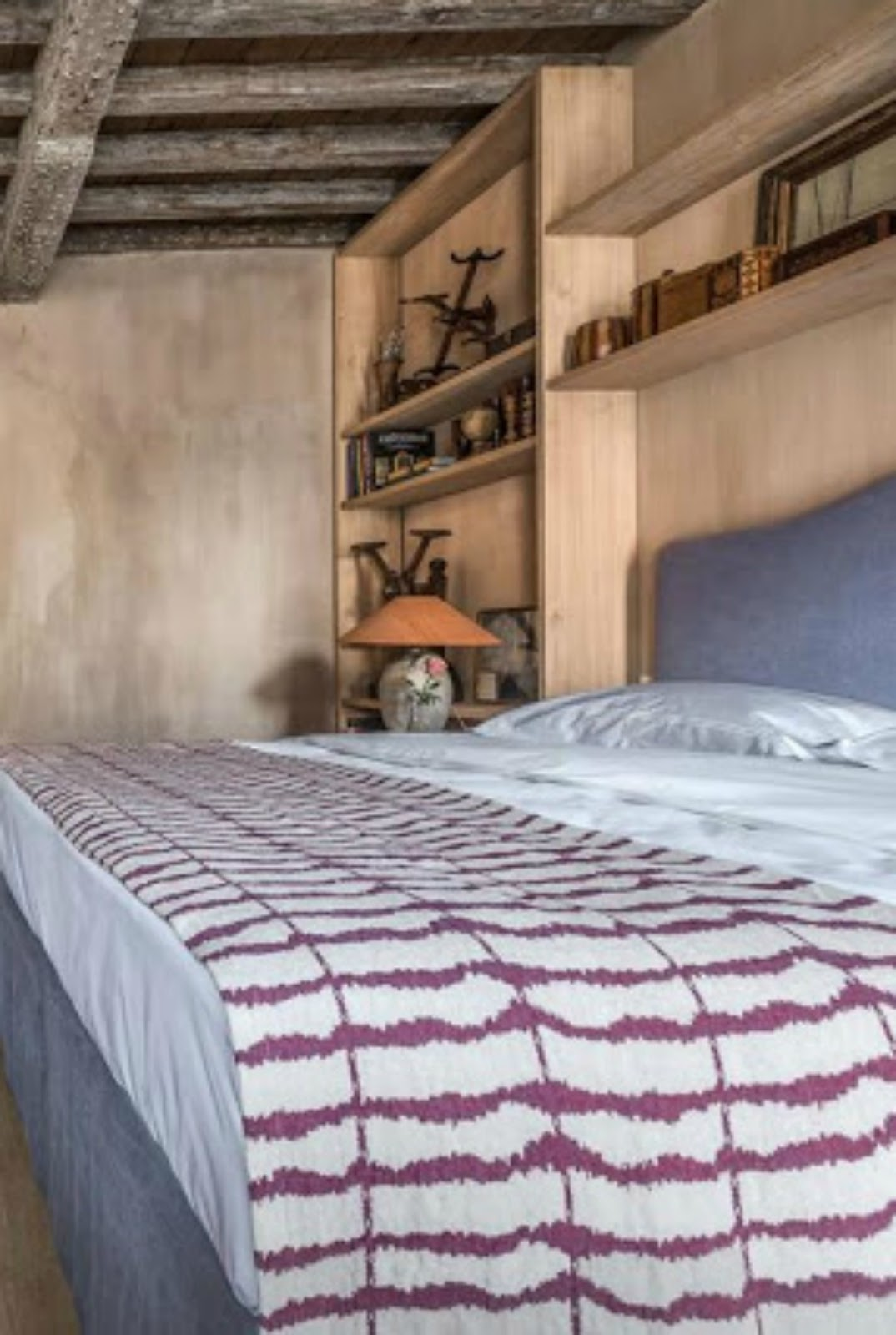 Belgian interior design in a Bruges bedroom - found on Hello Lovely Studio