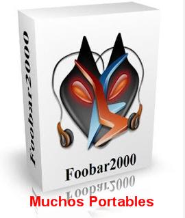 Portable foobar2000