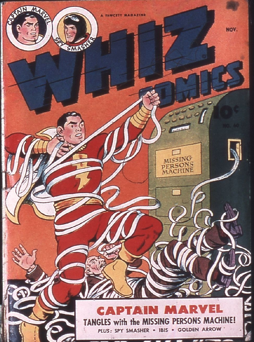 WHIZ Comics issue 60 - Page 1
