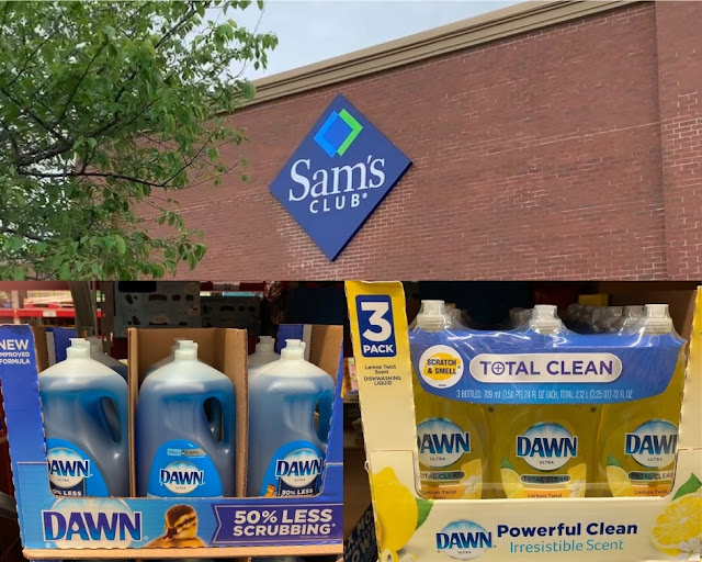 Find Dawn Ultra and Dawn Total Clean Lemon Twist at Sam's Club #DawnatSamsClub #ad
