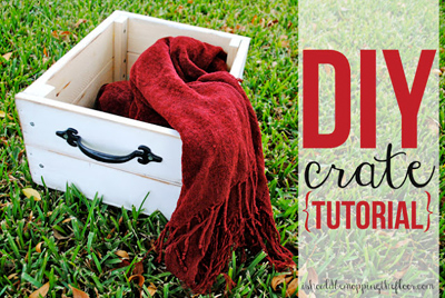 How to Build a Vintage Crate