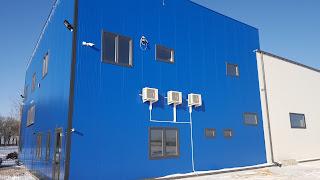 System klimatyzacji w firmie Sfamasz w skierniewicach. Montaż, Projekt