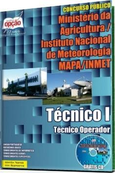 Apostila MAPA/INMET Técnico I - Técnico Operador