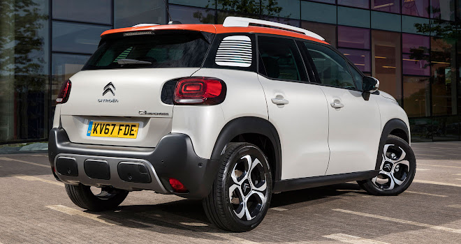 Citroen C3 Aircross rear view