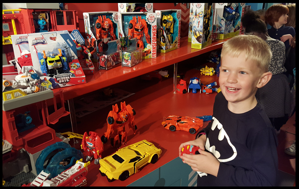 Transformers at Kidtropolis