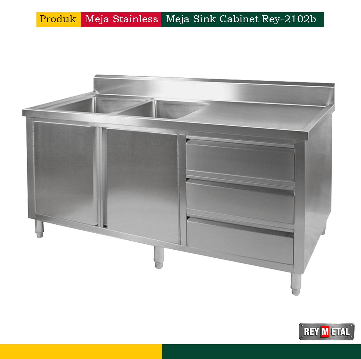 Meja Sink Cabinet Rey 2102b