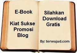 E-Book Gratis: Kiat Sukses Promosi Blog