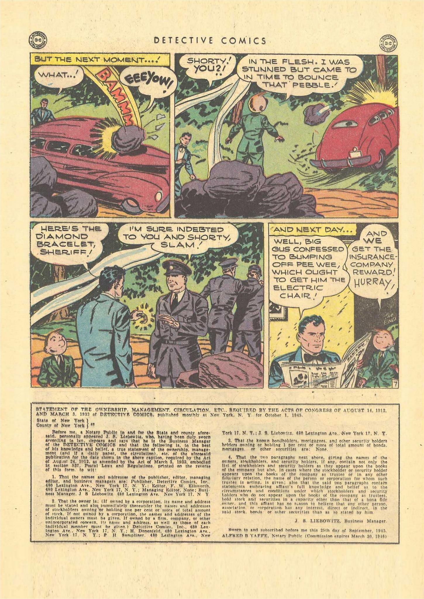 Read online Detective Comics (1937) comic -  Issue #109 - 22