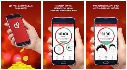 Aplikasi Pulsaku - Cara Mudah Cek Kouta Internet dan Mendapatkan Pulsa Gratis dari Aplikasi Android PulsaKU