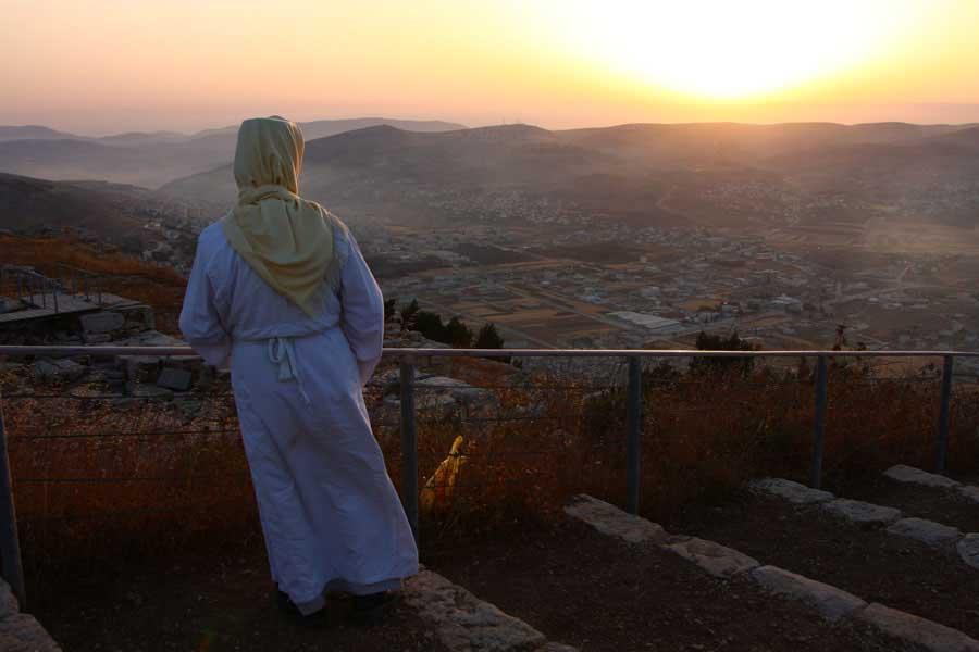 ¿Sabias que el Monte Gerizim se considera el primer lugar creado por Dios y cuna de Adán?