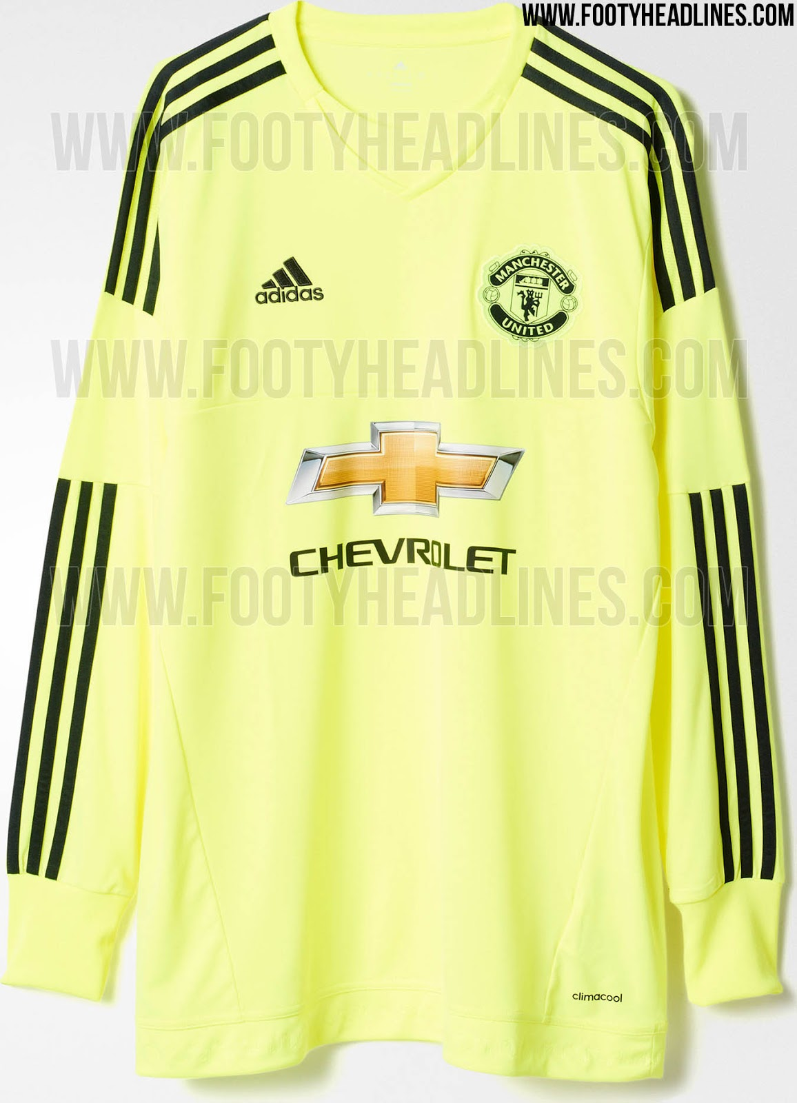 adidas manchester united 15 16 kits released footy headlines. Black Bedroom Furniture Sets. Home Design Ideas